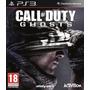 Jogo Midia Fisica Novo Call Of Duty Ghosts Playstation Ps3 Original