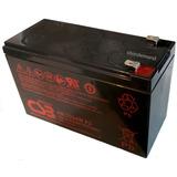 Bateria Recargable Csb 12v 9ah 34w Hr 1234w F2 (nueva)