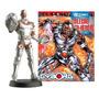 Miniatura Cyborg Dc Comics Eaglemoss Ed. Nº 47 Original