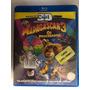 Madagascar 3 Os Procurados 3d - Bluray Usado Original