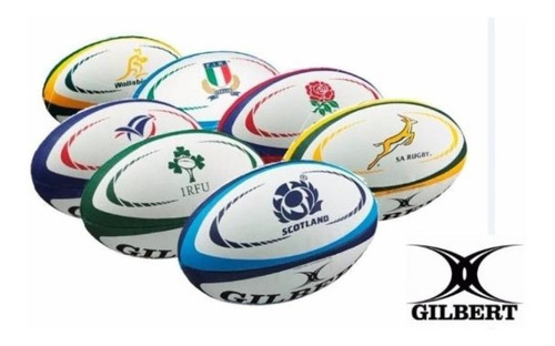 Pelota Rugby Gilbert Mini Varios Diseños La Casa Del Nadador