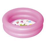 Pileta Inflable Redonda Bestway Kiddie Lounge 51061 De 61cm X 15cm 21l Color Rosa