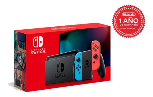 Consola Nintendo Switch Neon/ Blue