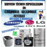 Servicio Técnico Autorizado Lavadora Nevera Seca LG Samsung