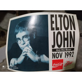Calcomanía Elton John En Argentina