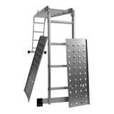 Escalera Aluminio Articulada 4x4 Multifuncion Con Plataforma