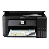 Impressora A Cor Multifuncional Epson Ecotank L4160 Com Wifi Preta 110v/220v
