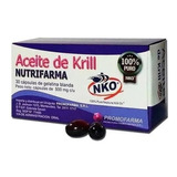 Aceite De Krill Promofarma 30 Cápsulas