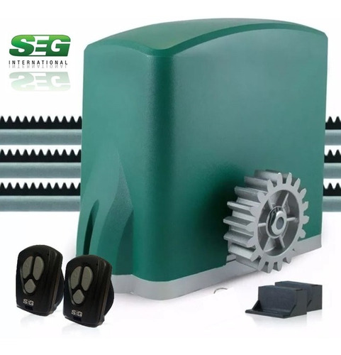 Motor Porton Corredizo Seg Abs 1/4hp Automatico Electrico