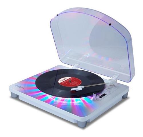 Bandeja Giradisco Usb Stereo Ion Photon Lp Multicolor Luces
