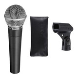 Micrófono Shure Sm Series Sm58 Cardioide, Unidireccional