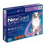 Nexgard Spectra 15.1 - 30 Kg L 3 Masticable (morado) L3