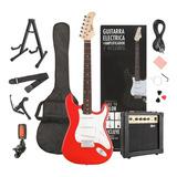 Pack Guitarra Eléctrica Epic 39  Set Amplificador Accesorios