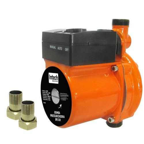 Bomba Pressurizadora 120 Watts 1600l 110v - Intech Machine