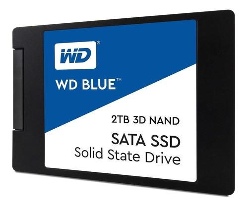 Disco Hd Ssd 2tb Wd Western Digital Blue Solido Sata Fullh4r