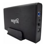 Gaveta Carry Case Nisuta Usb 3.0 Disco Sata 3.5 Portatil