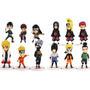 Kit 12 Action Figures Naruto 12 Cm Original