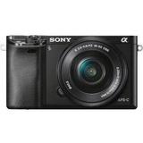Cámara Digital Sony Alpha A6000 Mirrorless Con Lente De -067