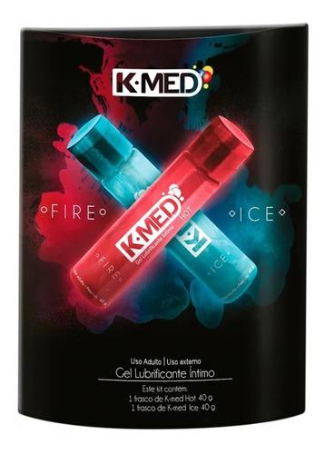Kit 2 Gel Lubrificante Intímo K-med