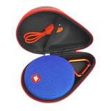 Estuche Funda Protectora Rígida Para Parlante Bluetooth Jbl Clip + Cierre Reforzado + Impermeable