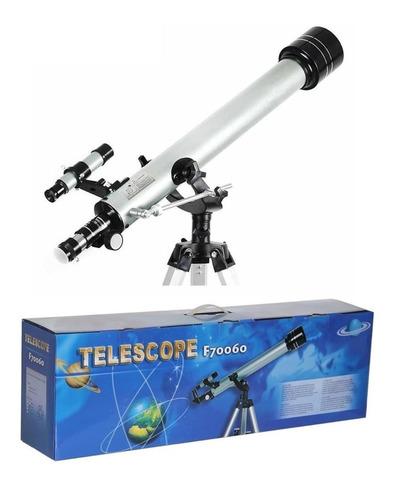 Telescopio F70060 Astronómico Profesional Utral Hd 525 Veces