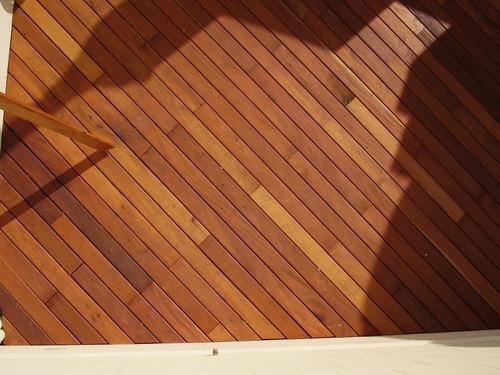 Deck Madera Eucalipto Premium Colocado - Todo Incluido!!!