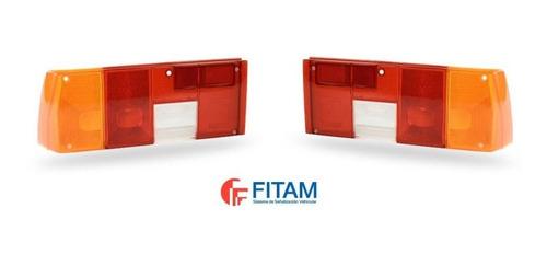 Lente Faro Trasero Fiat Regatta Fitam Izq / Der