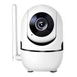 Camara Ip Wifi Seguridad Inalambrica Audio Detector Graba Sd