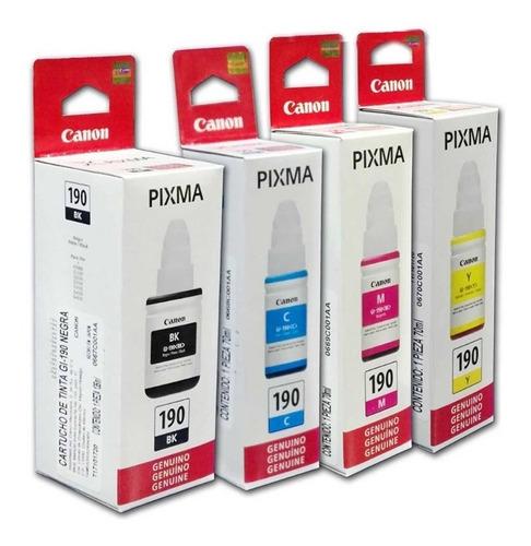 Pack De Tintas Canon Gi-190 , Original