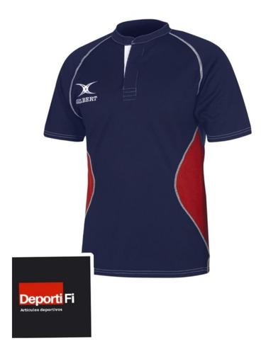 Remera Gilbert Rugby Xact Ii Nv Talle L Al 2xl #deportifi
