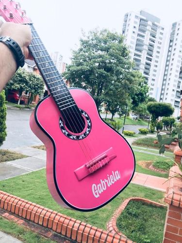 Guitarras Acusticas Con Forro Y Metodo, Niños De 3 A 7 Años