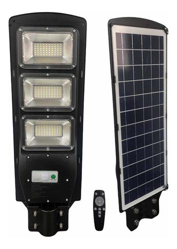 Lámpara Led Solar De Alumbrado Público 90w Con Control Remot