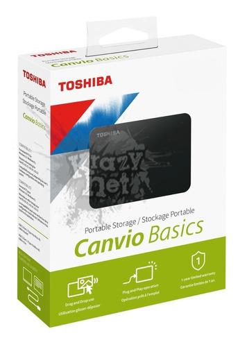 Disco Duro Externo Toshiba 2tb Teras Canvio Modelo 2019 New