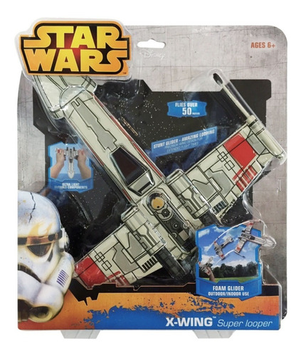 Naves Star Wars Super Looper Voladores Aletas Ajustab T09802