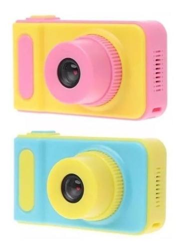 Mini Cámara Digital Para Niñas Y Niños + Memoria 8gb Maxell