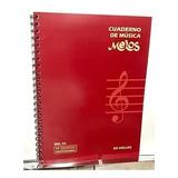 Melos Cuaderno Pentagramado 50 Hojas Con Espiral Cod:mls