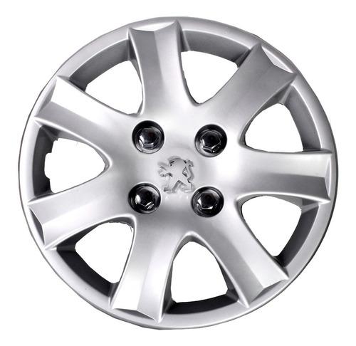 Tasa Rueda Peugeot 207 Y 206 14 PuLG Con Logo