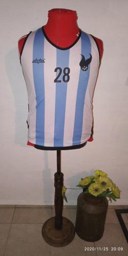 Camiseta Atenas Basquetbol Medidas 65x46