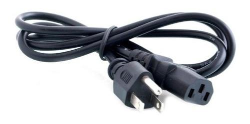 Cable De Corriente O Poder Pc O Monitor Y Otros 1.2mts
