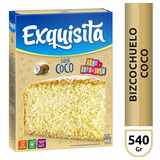 Exquisita Bizcochuelo Coco X540 Gr