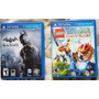 Jogo Ps Vita Batman Black Gate E Lego Chima Javals Journey Original