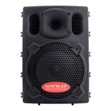 Parlante Winco W210usb Con Bluetooth  Negro 220v