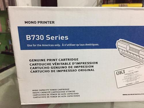Toner Oki B730 Nuevo Original 52123603
