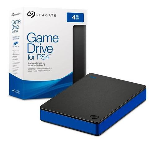 Disco Duro Externo Seagate 4tb Gamedrive 2.5  Usb-3.0 Ps4