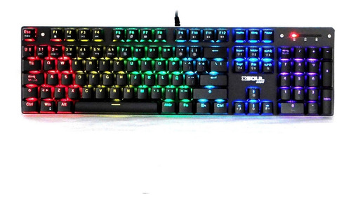 Teclado Mecanico Gamer Streamers Soul Edición X Switch Blue