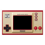 Nintendo Game & Watch Super Mario Bros. Color  Rojo Y Dorado