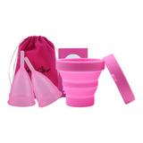 Pack 2 Copa Menstrual + Esterilizador