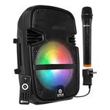 Parlante Spica Sp 3312tm Portátil Con Bluetooth  Negro