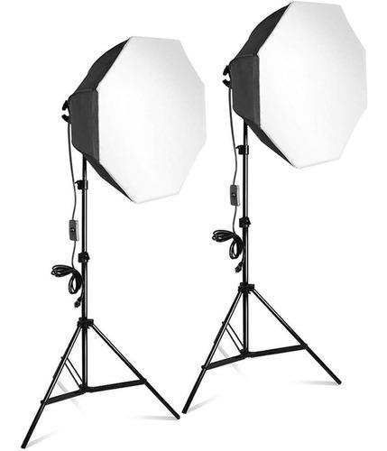 Kit De Iluminación Para Fotografía Y/o Video