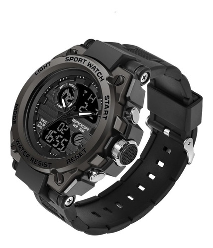 Relógio Masculino Sanda 739 Militar Prova D'água Original